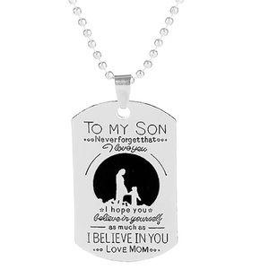 Jewelry - To my son pendant